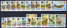 Isle of Man 1973-75 set unmounted mint.