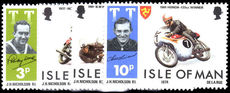 Isle of Man 1974 TT Motorcycle races unmounted mint.