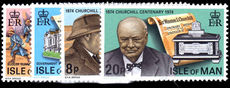 Isle of Man 1974 Churchill unmounted mint.