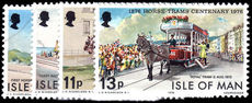 Isle of Man 1976 Horse Trams unmounted mint.