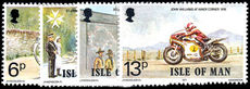 Isle of Man 1977 Linked Anniversaries unmounted mint.