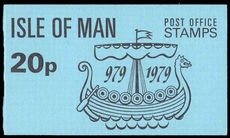 Isle of Man 1977 Tynwald 20p booklet unmounted mint.