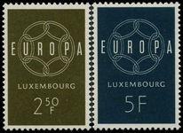 Luxembourg 1959 Europa unmounted mint.