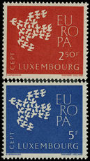 Luxembourg 1961 Europa unmounted mint