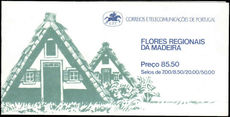 Madeira 1981 Flowers 85E50 booklet unmounted mint.