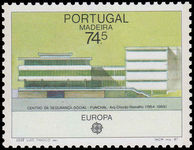 Madeira 1987 Europa. Architecture unmounted mint.
