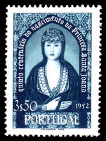 Portugal 1953 3E50 Princess St Joan unmounted mint.