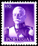 Portugal 1945 10c Carmona unmounted mint.