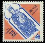 Brazil 1966 Christmas Madonna unmounted mint.