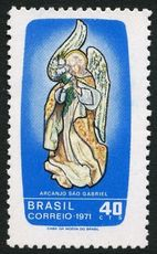 Brazil 1971 St Gabriels Day unmounted mint.