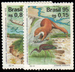 Brazil 1995 Animals unmounted mint.