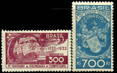 Brazil 1935 Espirito Santo lightly hinged mint.