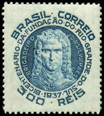 Brazil 1937 Rio Grande Do Sul lightly hinged mint.