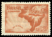 Brazil 1951 Bible Day unmounted mint.