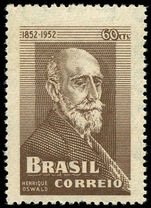 Brazil 1952 Oswald Composer unmounted mint.