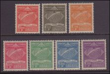 Brazil 1927 Syndicato Condor set unmounted mint.