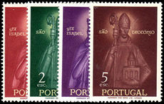 Portugal 1958 St. Elizabeth and St. Teotonio unmounted mint.