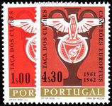 Portugal 1963 Benfica Club's Double Victory Football unmounted mint.