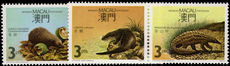 Macau 1988 Protected Mammals (in 2 pairs) unmounted mint.