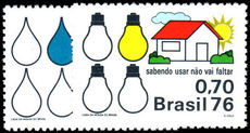 Brazil 1976 Fuel Resources unmounted mint.