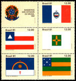 Brazil 1981 State Flags unmounted mint.