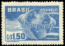 Brazil 1949 UPU unmounted mint.