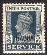 Nabha 1938 3p official fine used.
