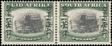 South Africa 1950-54 5s Official lightly mounted mint.