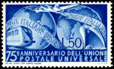 Italy 1949 UPU mint lightly hinged.