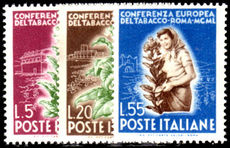 Italy 1950 Tobacco unmounted mint.