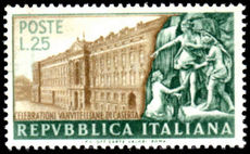 Italy 1952 Caserta Palace mint lightly hinged.
