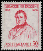 Italy 1968 Rossini unmounted mint.