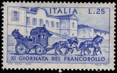 Italy 1969 Stamp Day unmounted mint.