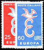 Italy 1958 Europa unmounted mint.