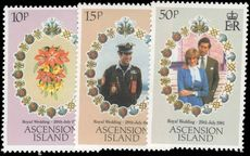Ascension 1981 Royal Wedding unmounted mint.