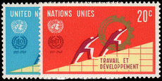 New York 1969 ILO unmounted mint.