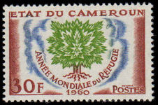 Cameroon 1960 World Refugee Year unmounted mint.