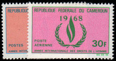Cameroon 1968 Human Rights unmounted mint.