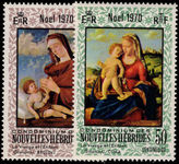French New Hebrides 1970 Christmas unmounted mint.