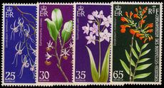 French New Hebrides 1973 Orchids unmounted mint.