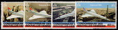 French New Hebrides 1978 Concorde unmounted mint.