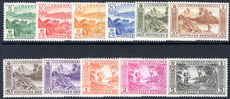 French New Hebrides 1957 set unmounted mint.
