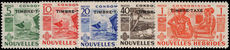 French New Hebrides 1953 Postage Due set unmounted mint.