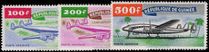 Guinea 1959 Air set unmounted mint.