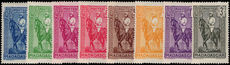 Madagascar 1936-40 part set unmounted mint.