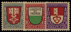 Switzerland 1919 Pro-Juventute set lightly mounted mint.