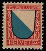 Switzerland 1920 Pro-Juventute 10c lightly mounted mint.