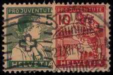Switzerland 1915 Pro-Juventute fine used.