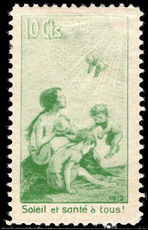 Switzerland 1912 10c Pro-Juventute lightly mounted mint.