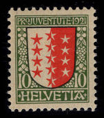 Switzerland 1921 Pro-Juventute 10c unmounted mint.